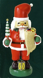 "Richard Glaser ""Portly"" Santa With Tree Nutcracker – 14″"