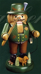 "Richard Glaser ""Portly"" Hunter With Dog Nutcracker – 14″"