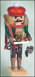 Kwo Gingerbread Seller Nutcracker – 11.0″