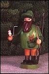 Hunter With Rabbit And Gun Smoker – 7.1″