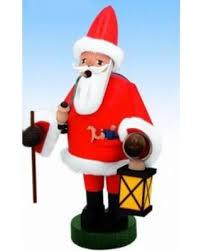 Jolly Santa With Lantern Smoker – 7.1″