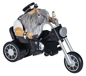 Biker On Three-Wheeler Smoker – 5.9″