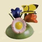 Butterfly On Flowers – 1.5″