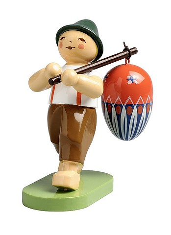 Boy With Egg On Pole – 2.5″