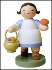 Girl With Basket Of Eggs – 2.5″