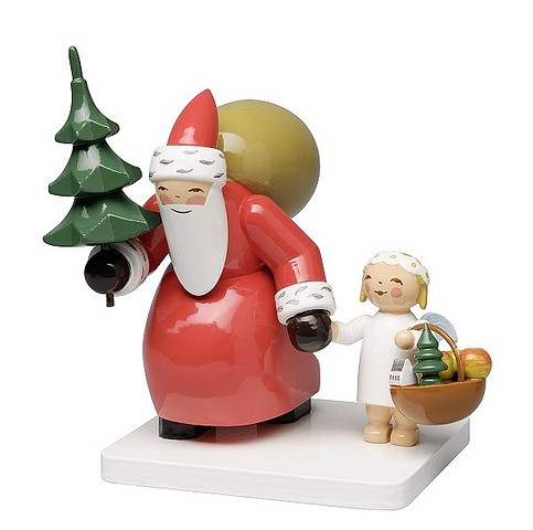 """Santa With Tree & Angel – 3.0  (Return Of A Great One!)"""""""