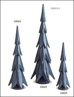 ORE MOUNTAIN PINES SET OF THREE -