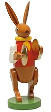 Bunny Musician With Cymbals – 3.0″