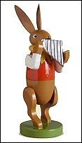 Bunny Musician With Pan Flute – 3.0