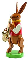 Bunny Musician With Saxophone – 3.0″