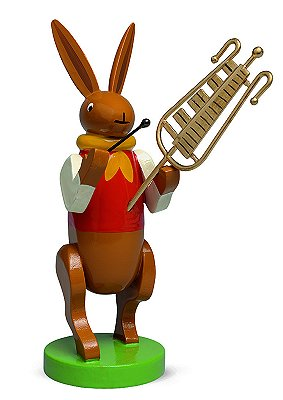 Bunny Musician With Chimes – 3.0″