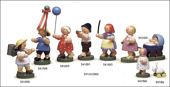 Group Of Children Set Of 8 – 1.75″