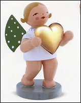 Angel With Love With Gold-Plated Heart