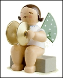 Angel With Cymbals Sitting – 2.0″