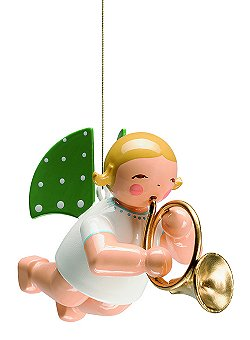Angel With French Horn, Suspended – 2.0
