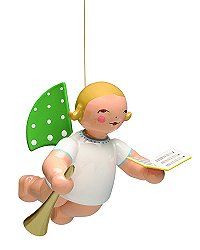 Angel With Songbook And Small Trumpet – 2.0″