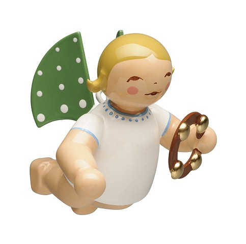 Angel With Headless Tambourine, Suspended – 2.0″
