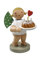 Angel With Cake