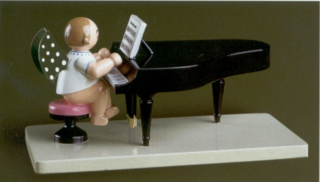 Angel At Grand Piano Closed – 2.5″