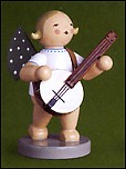 Angel With Banjo – 2.5″