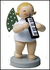 Angel With Melodica – 2.5″