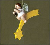 Christmas Tree Angel With Cymbals