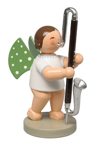 Angel With Contrabass Clarinet – 2.75″