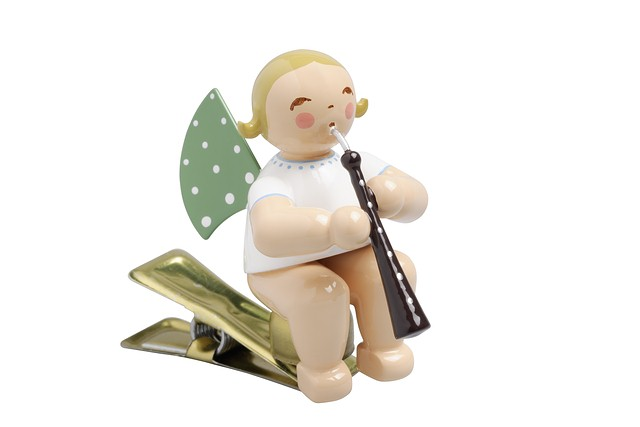 Angel With English Horn, On Clip – 2.25