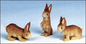 A Group Of Rabbits – Three Pieces