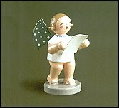 Angel With Sheet Of Music – 2.5″