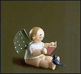 Angel With Songbook And Bird – 1.5″