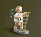 Angel With Large Harp – 2.5″