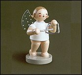 Angel With Triangle – 2.5″