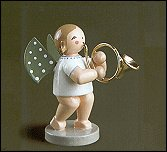 Angel With French Horn – 2.5″