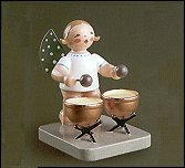 Angel With Two Kettledrums – 2.5″