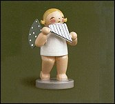 Angel With Pan Flute – 2.5″