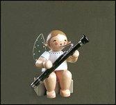 Angel With Bassoon Sitting – 2.0″