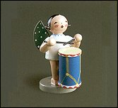 Angel With Military Drum – 2.5″