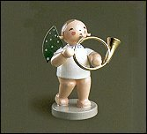 Angel With Base Horn – 2.5″