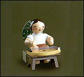 Angel With Zither Sitting – 2.0″