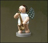Angel With Saxophone – 2.5″