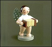 Angel With Concertina – 2.5″