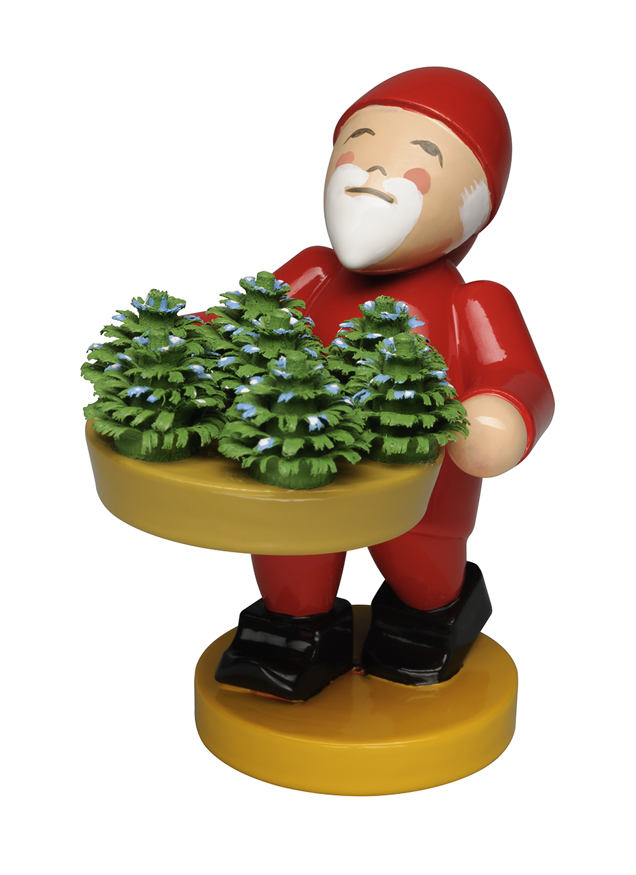 Gnome with Little Plants – 2.0″