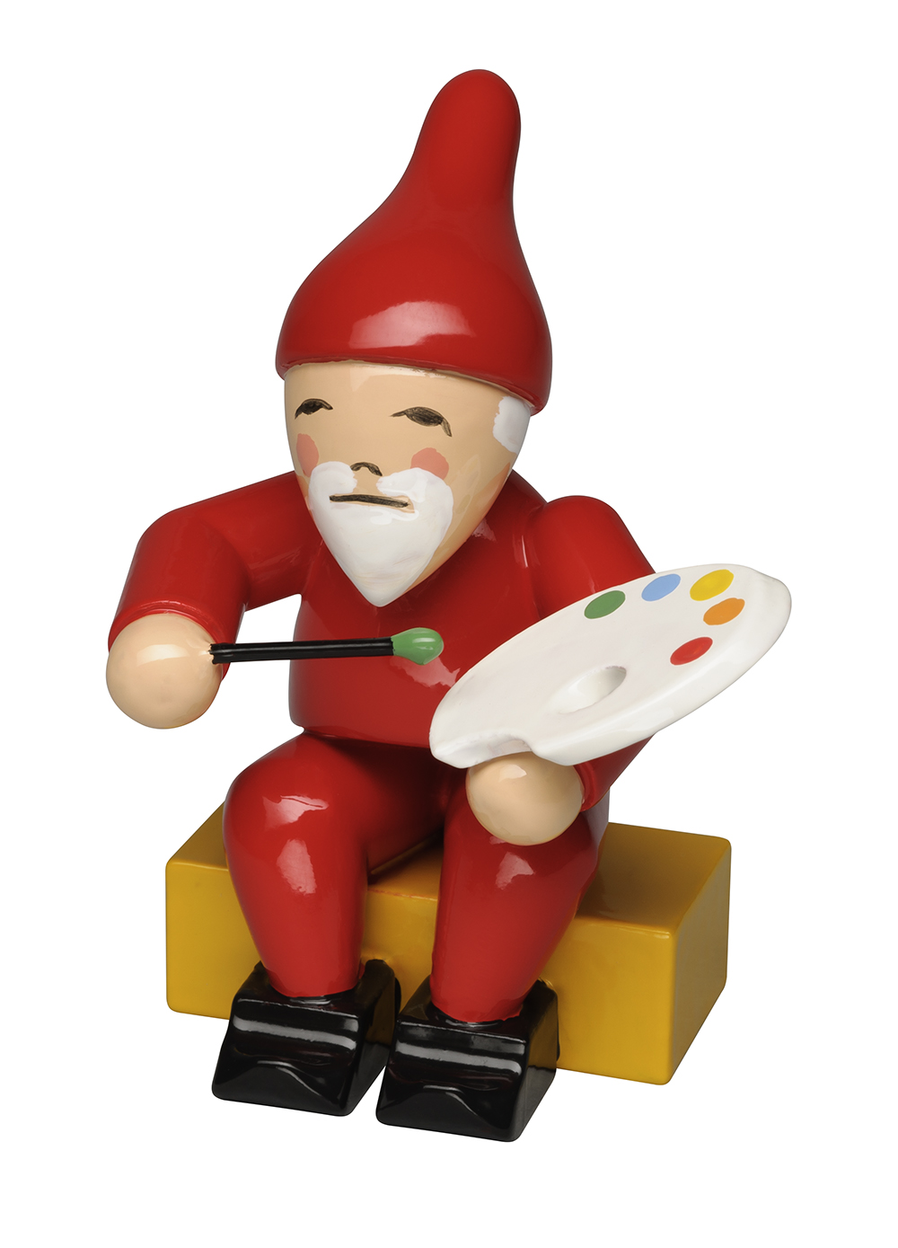 Gnome with Brush and Palette – 2.0″