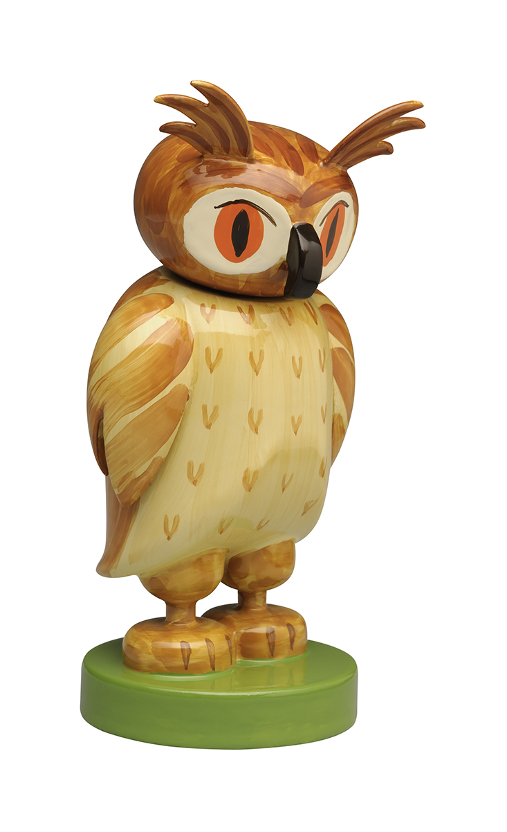 Owl, Medium, Head Turns -2.0″-First made in 1926
