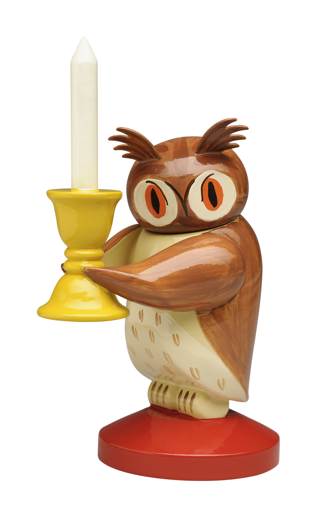 Owl, Large with Candelabra, Head Turns – 3.25″ from 1926