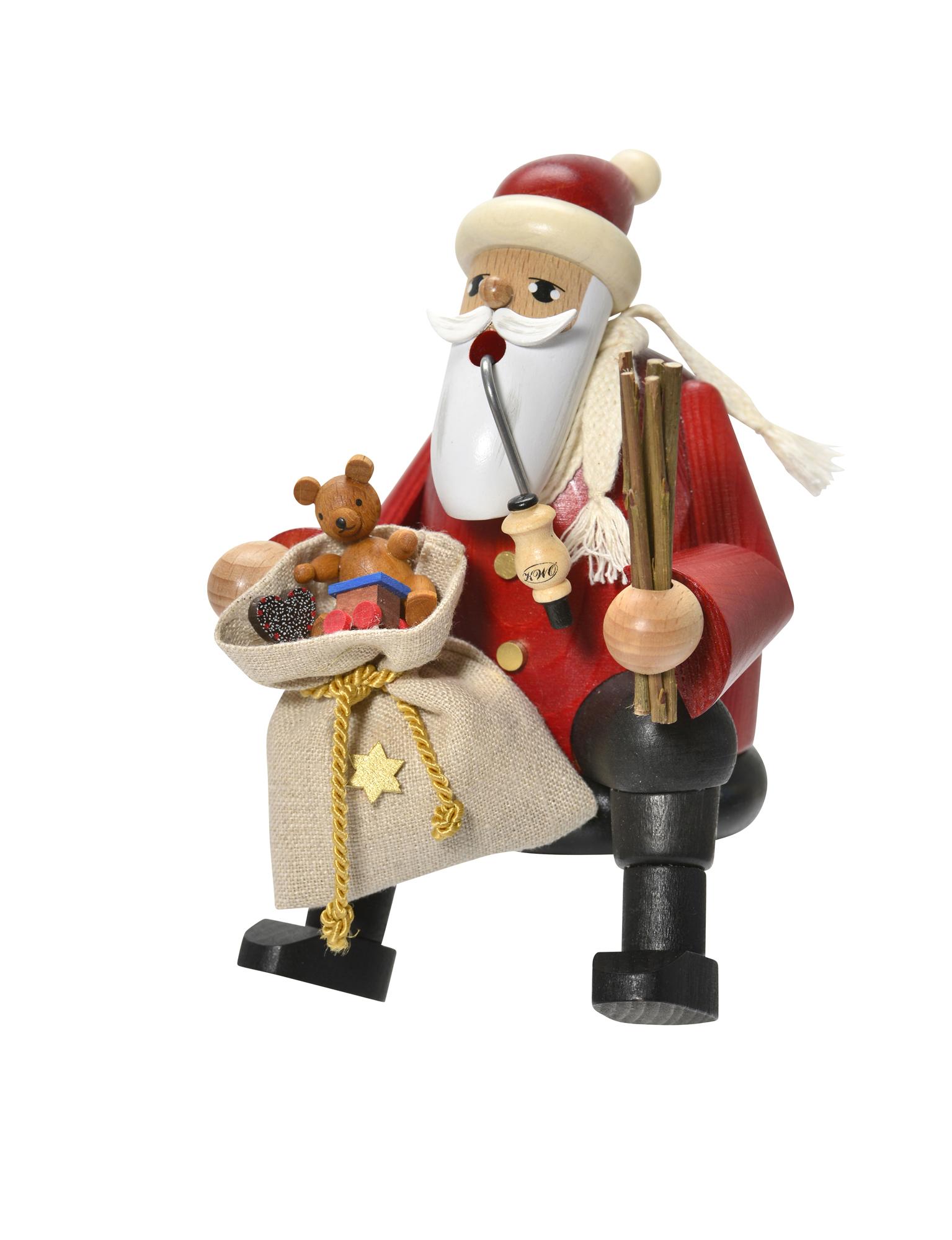 Santa Claus, Sitting – 6.3″
