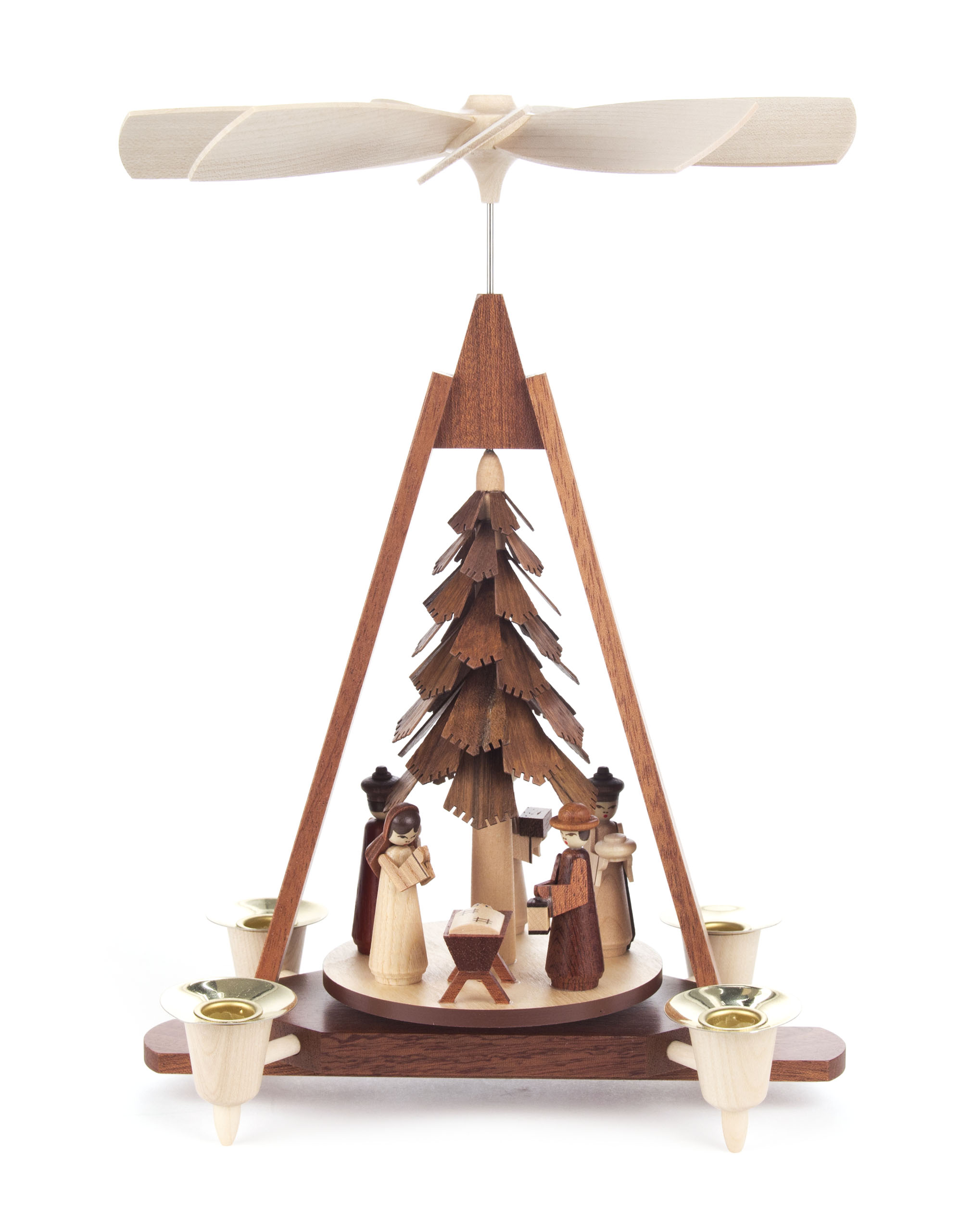 Dregeno A-Frame w/Carved Tree & Nativity – 11″