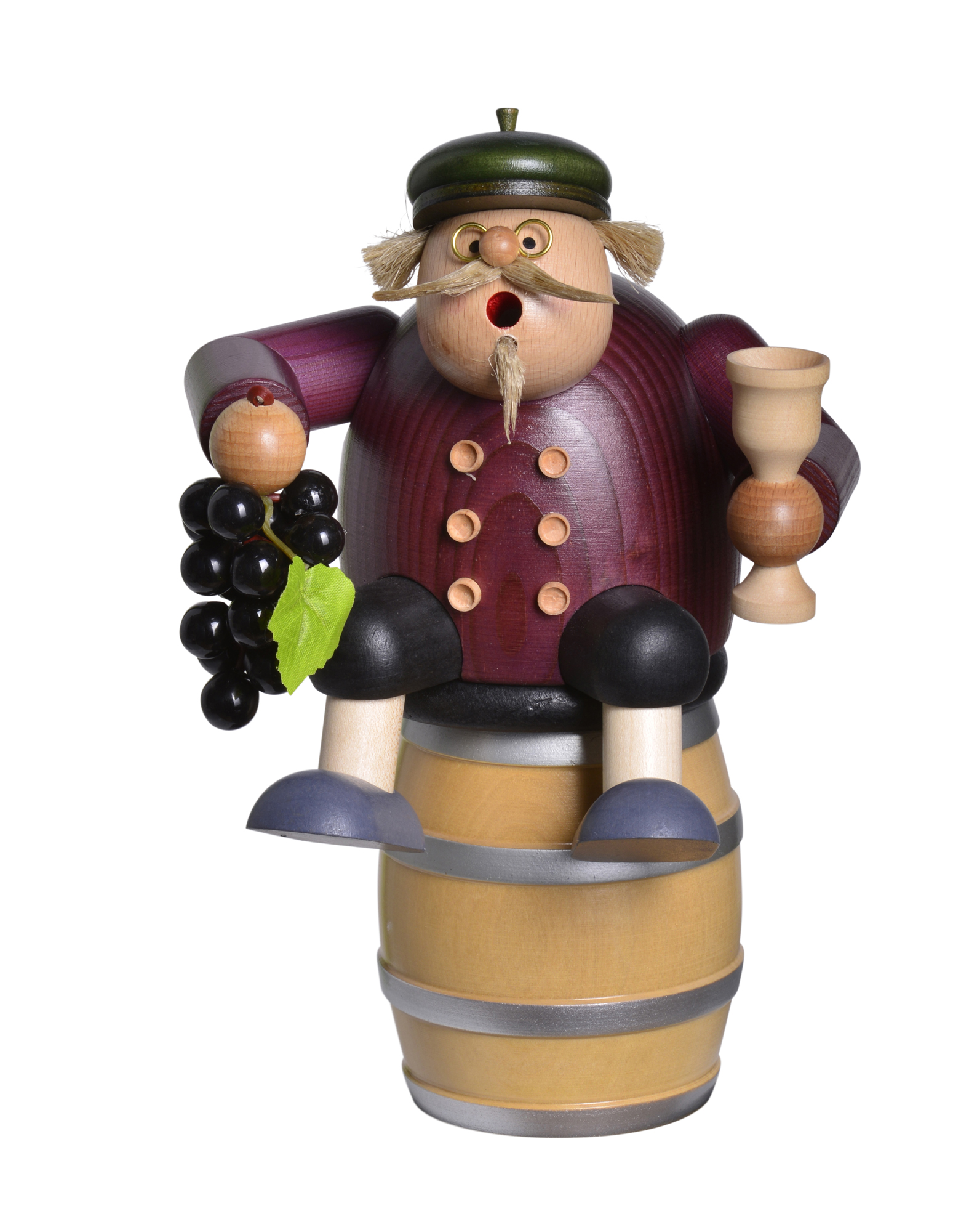 New Winemaker, Sitting on Barrel – 8.5″, including Barrel