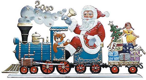 Christmas Express – 5 1/4 x 3″